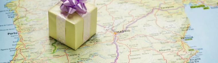 Idee regalo uomo compleanno e una proposta con un viaggio in Spagna