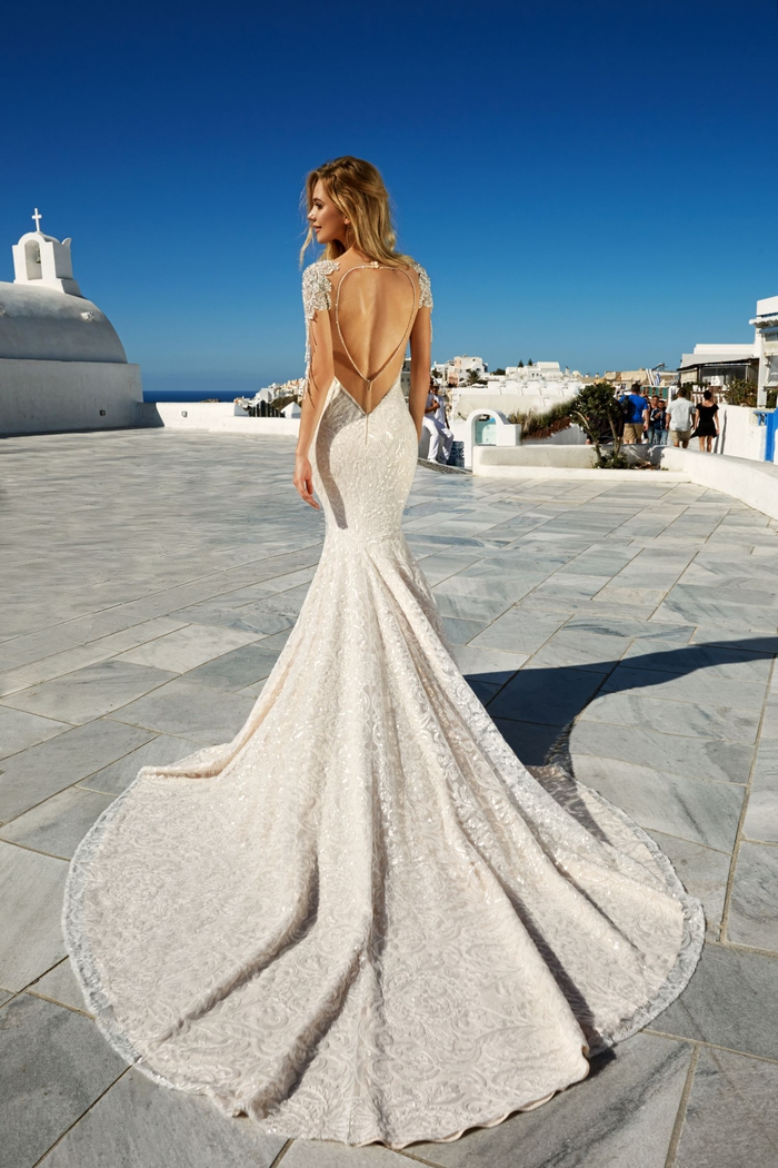 Vestito donna matrimonio, abito bianco stretto, abito d sposa stile sirena