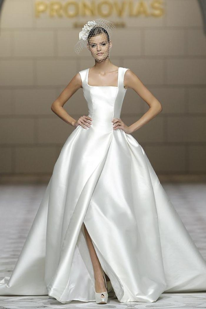 Vestiti da sposa colorati, abito da sposa di seta, abito lungo con spacco