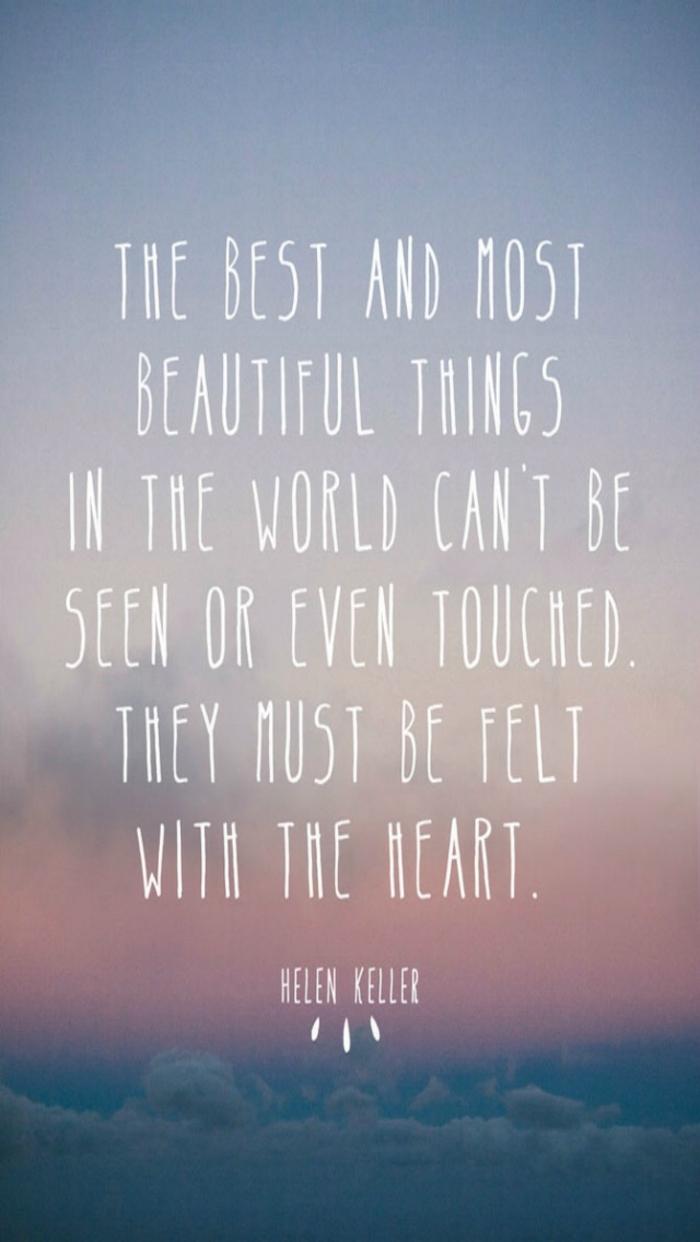 Frase di Helen Keller, Citazione in inglese, foto sfondi con frasi