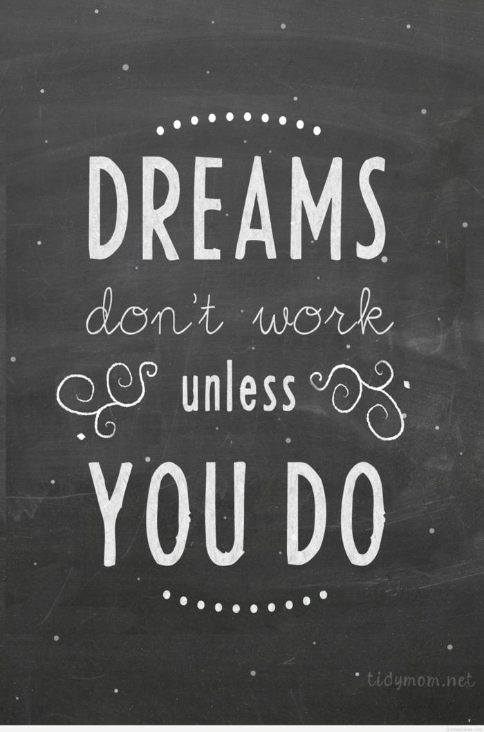 Sfondi più belli del mondo, citazione in inglese, frasi sui sogni