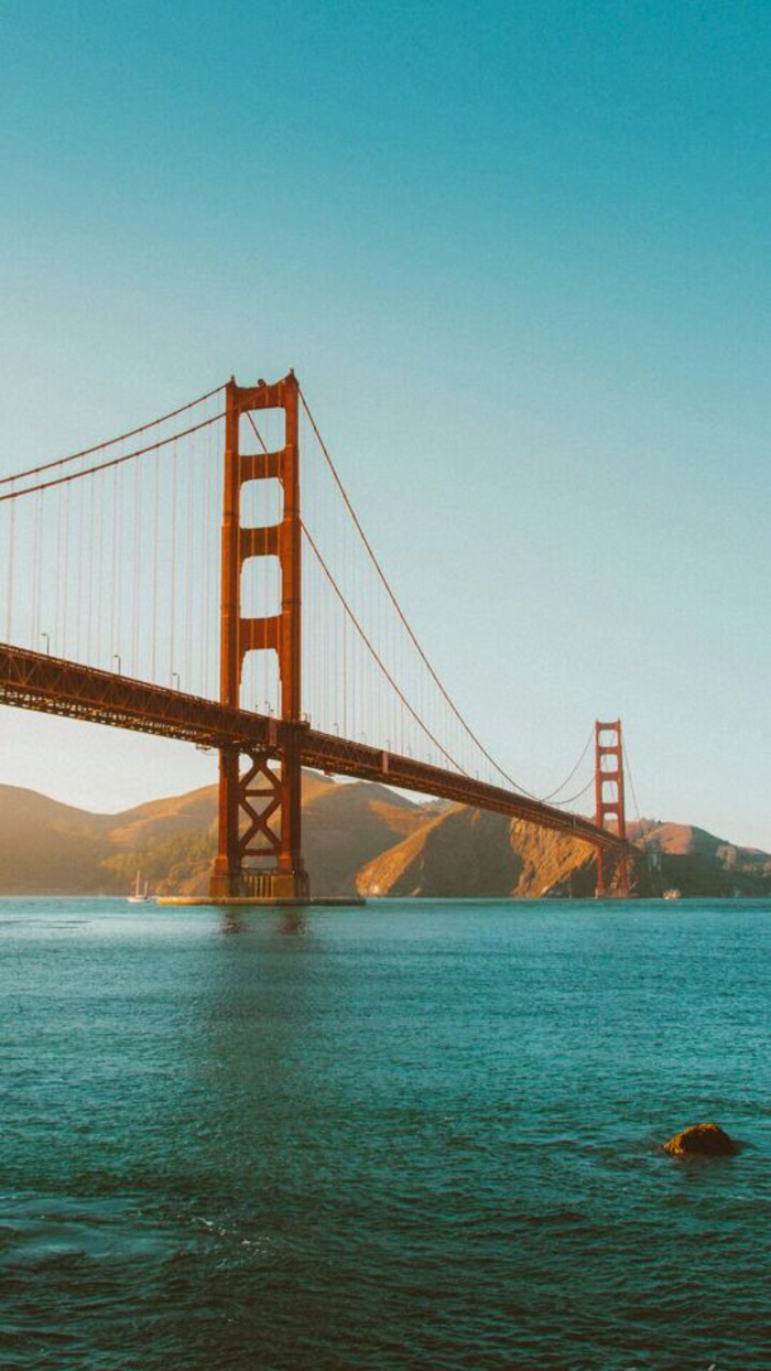 Foto di un ponte, ponte di San Francisco, foto sfondi