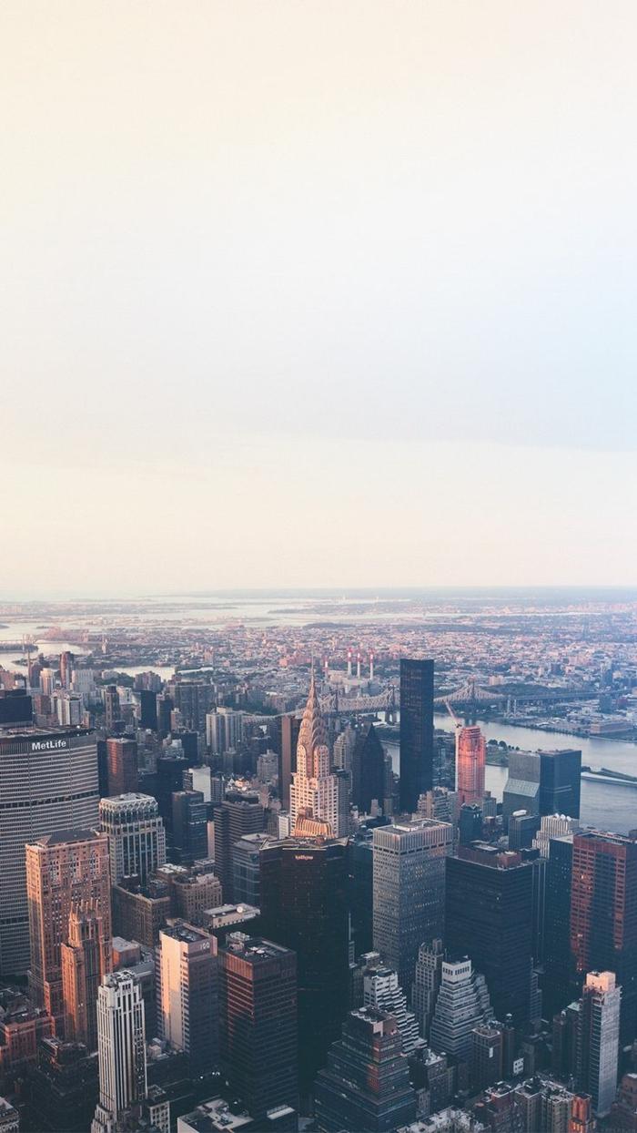 Foto sfondi, foto di una città, città con edifici, grattacieli alti