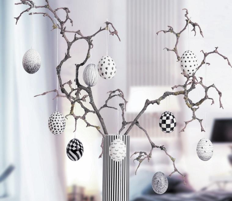 Lavoretti pasquali originali, albero pasquale, uova da appendere