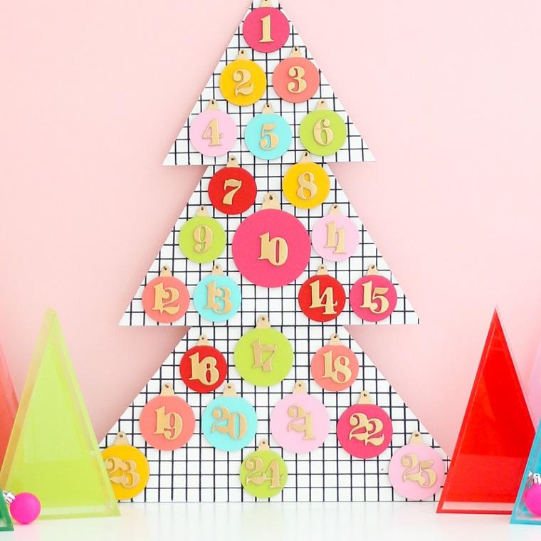 Lavoretti di Natale fai da te facili, calendario dell'Avvento