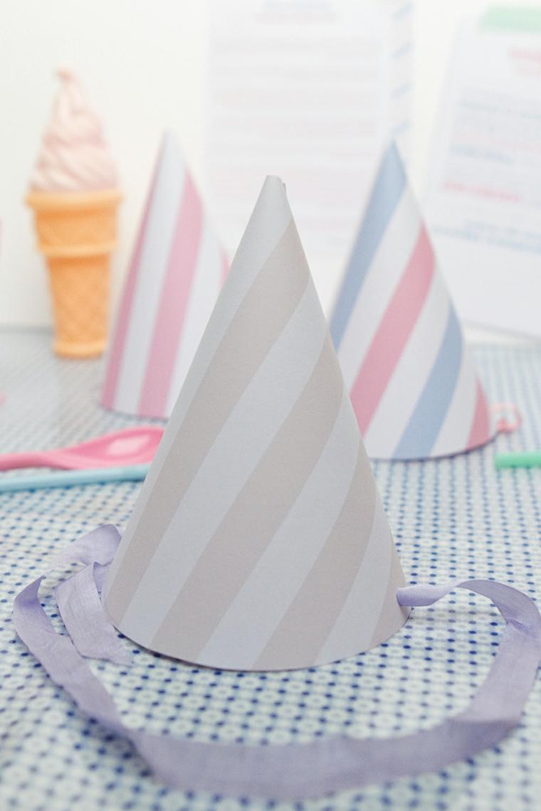 Laboratori creativi per bambini idee, cappellino con nastro