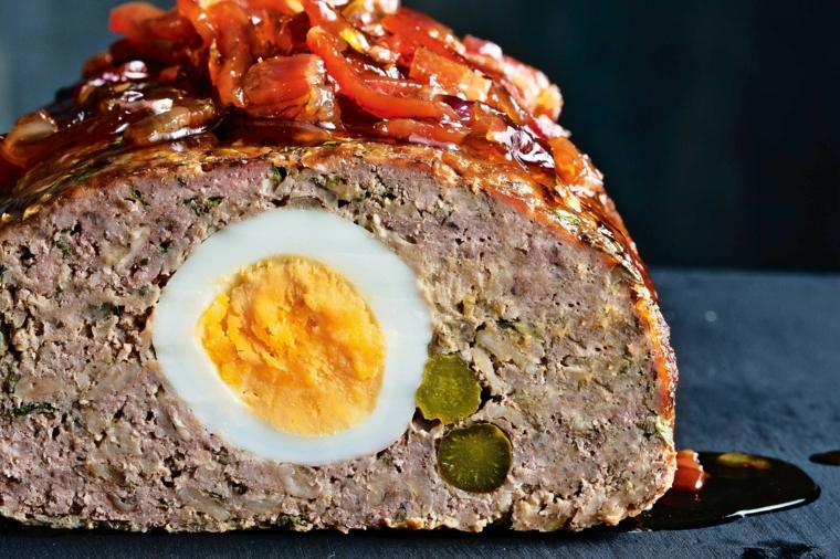 Uovo sodo con carne, come consumare le uova di pasqua, secondo piatto di carne