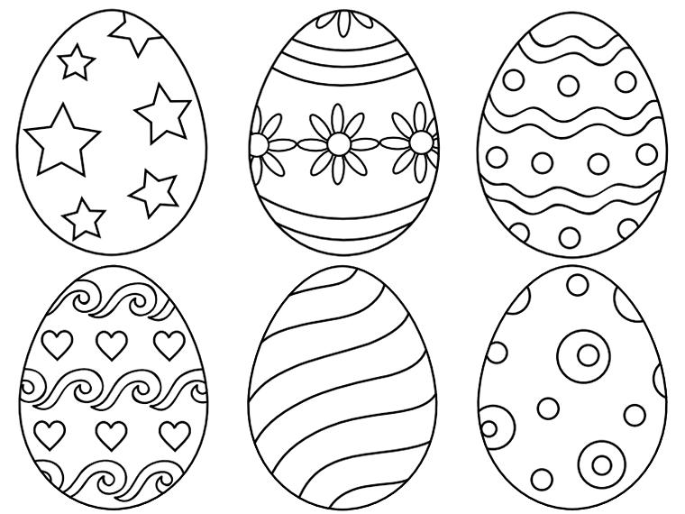 1001 Idee Per Uova Di Pasqua Da Colorare Con Immagini