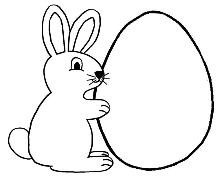 Lavoretti creativi Pasqua, ovetto con coniglio, coniglio pasquale