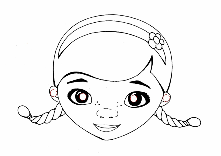 Peluche Da Colorare: 1001 + Idee Per Maschere Da Colorare E Ritagliare