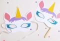 70 Maschere da colorare per bambini con disegni di animali e personaggi dei cartoni animati