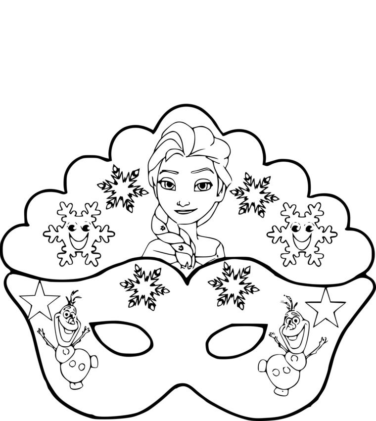 Disegni Da Colorare Per Bambini Elsa