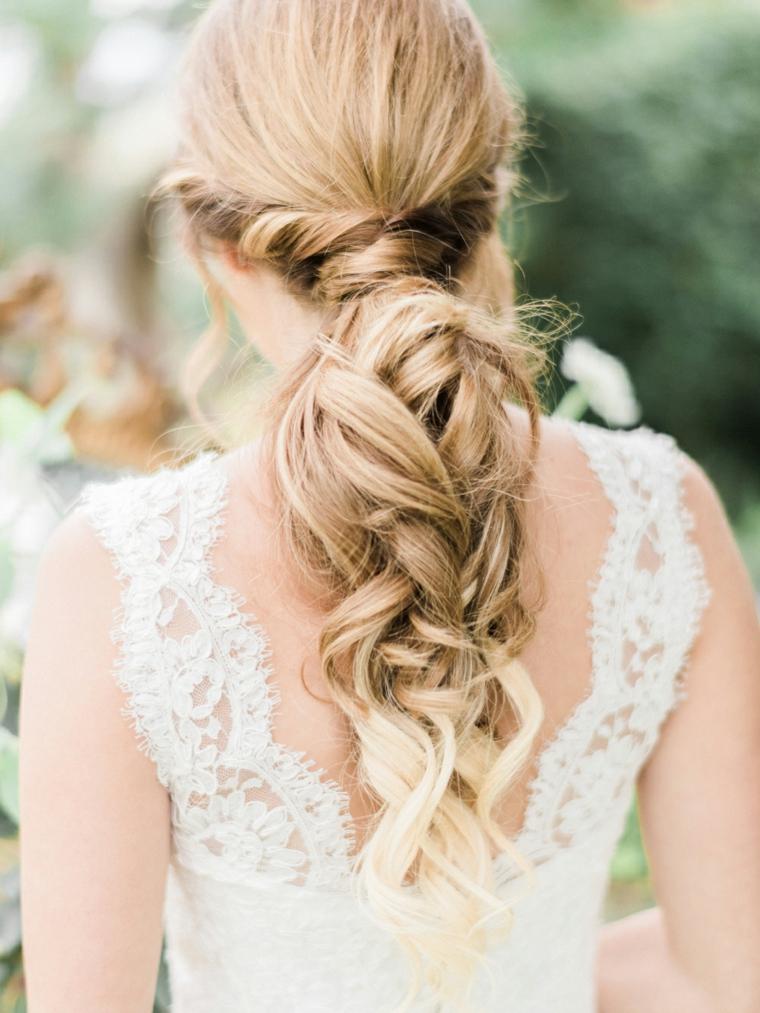 1001 Idee Per Acconciature Sposa Raccolti Belli 2019