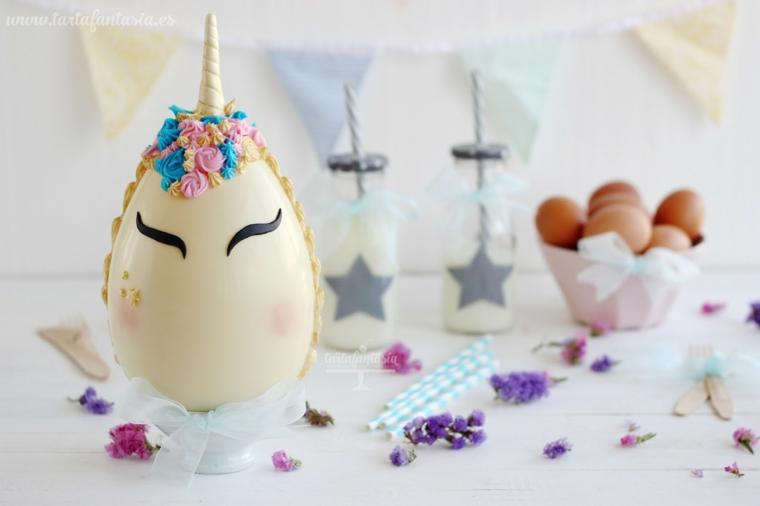 Decorazioni pasquali fai da te tutorial, uovo decorato con fiori