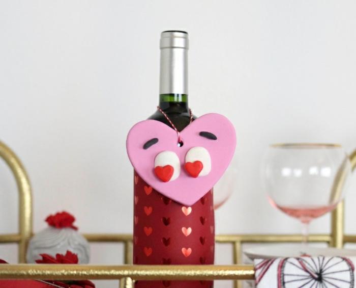 Regali personalizzati per lui, bottiglia di vino, regalo per San Valentino