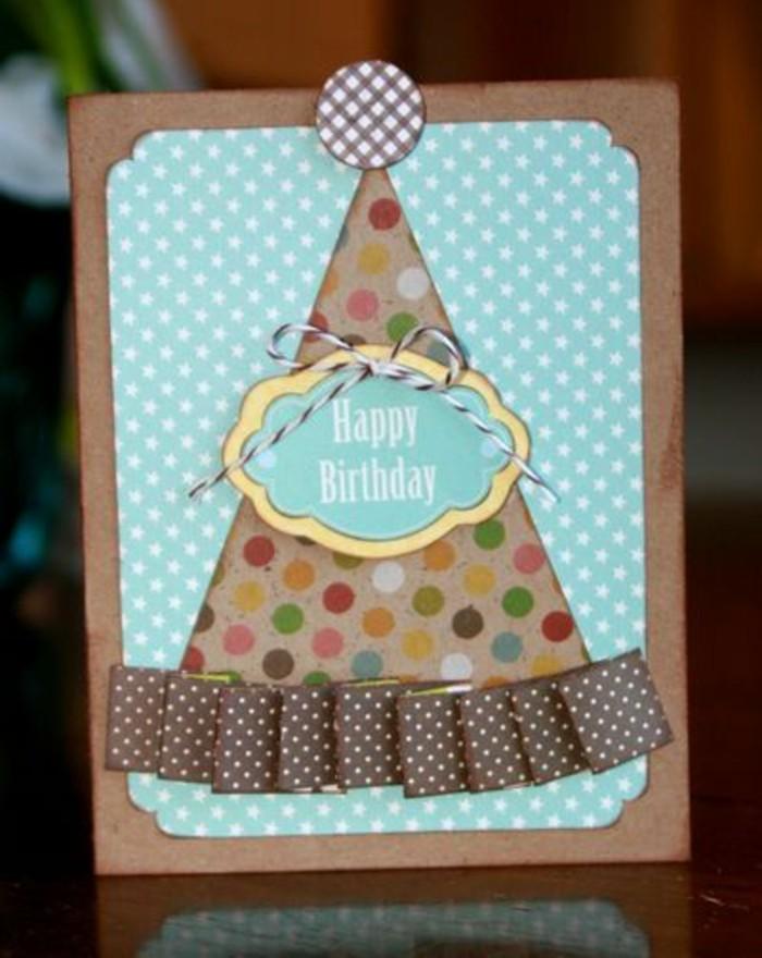 Disegno cappellino, regalo cartolina per bimbo, scritta buon compleanno