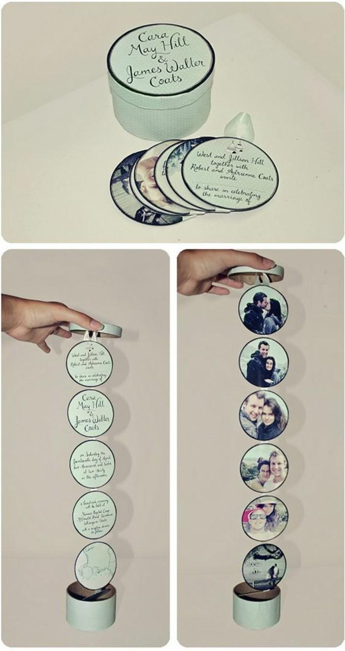 Scatola con foto, scatola con pensierini, idea regalo per anniversario matrimonio