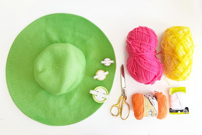 Cappello colore verde, filato di lana, idee regalo fai da te per amica