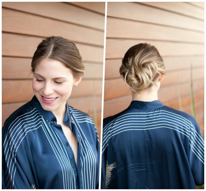 Acconciature capelli raccolti per cerimonia, capelli di colore biondo