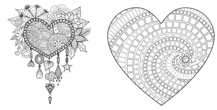 Ornamenti a spirale, mandala a spirale, come disegnare un mandala