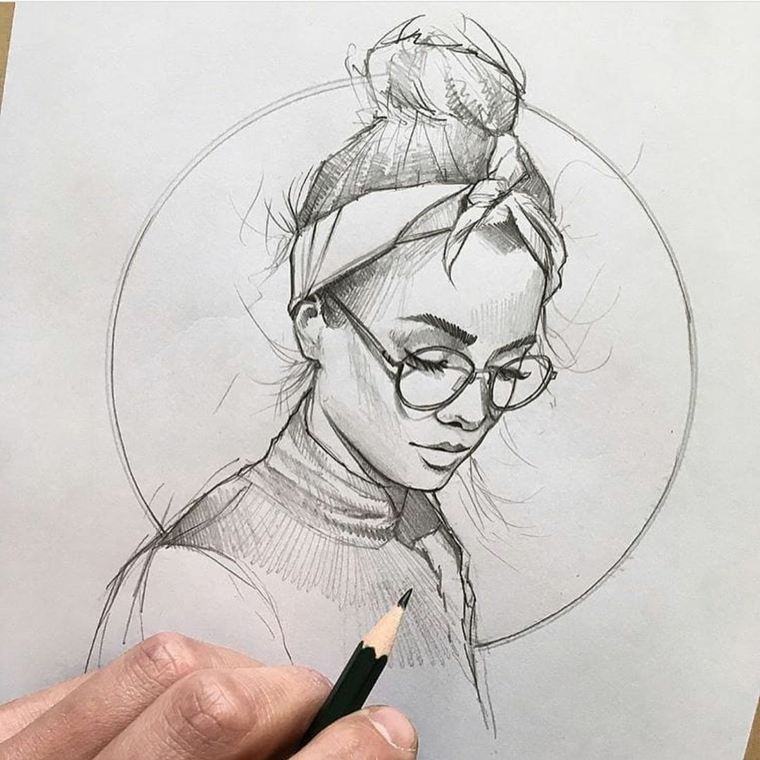 1001 idee per disegni a matita facili e molto belli