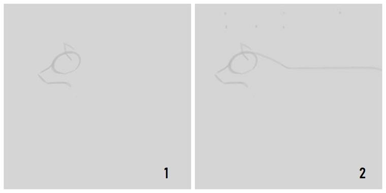 Disegni belli ma facili, come disegnare un lupo, tutorial con passaggi