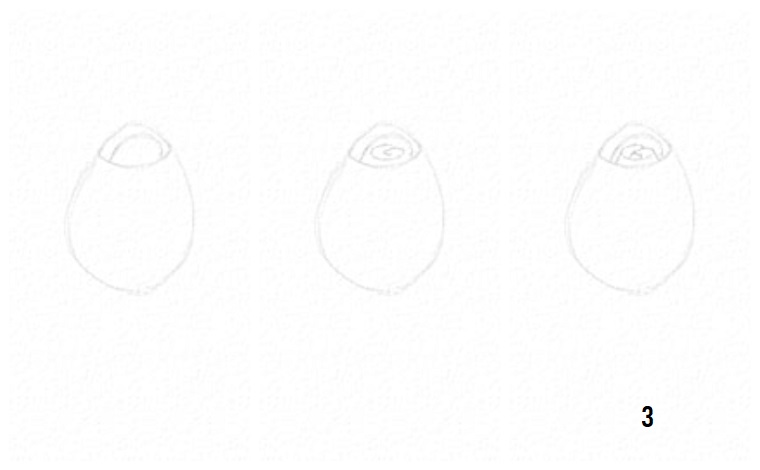 1001 idee per come disegnare una rosa con tutorial for Conigli facili da disegnare