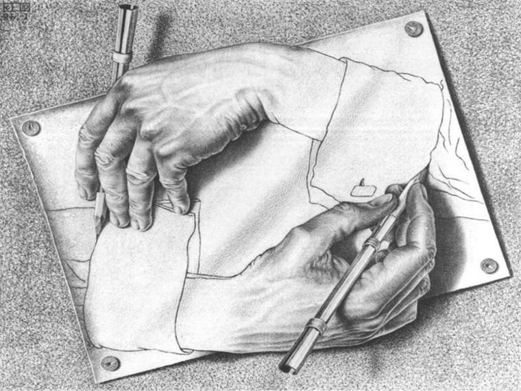 Disegni belli ma facili, disegno di due mani, schizzo a matita