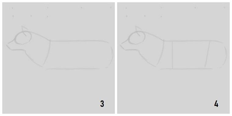 Immagini belle da disegnare, tutorial per dipingere, passi da seguire