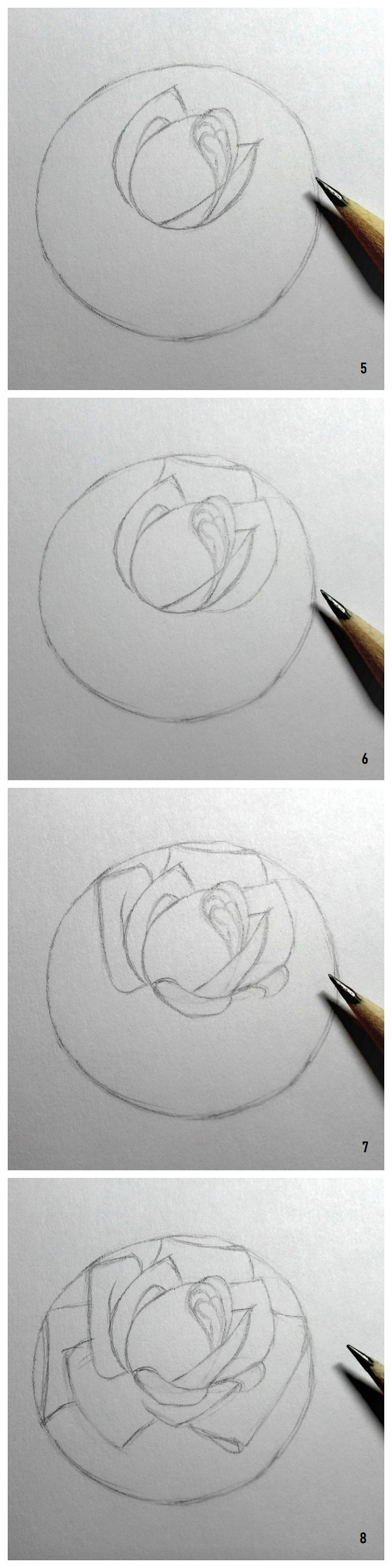 Disegni belli ma facili, tutorial passo per passo, disegno con la matita