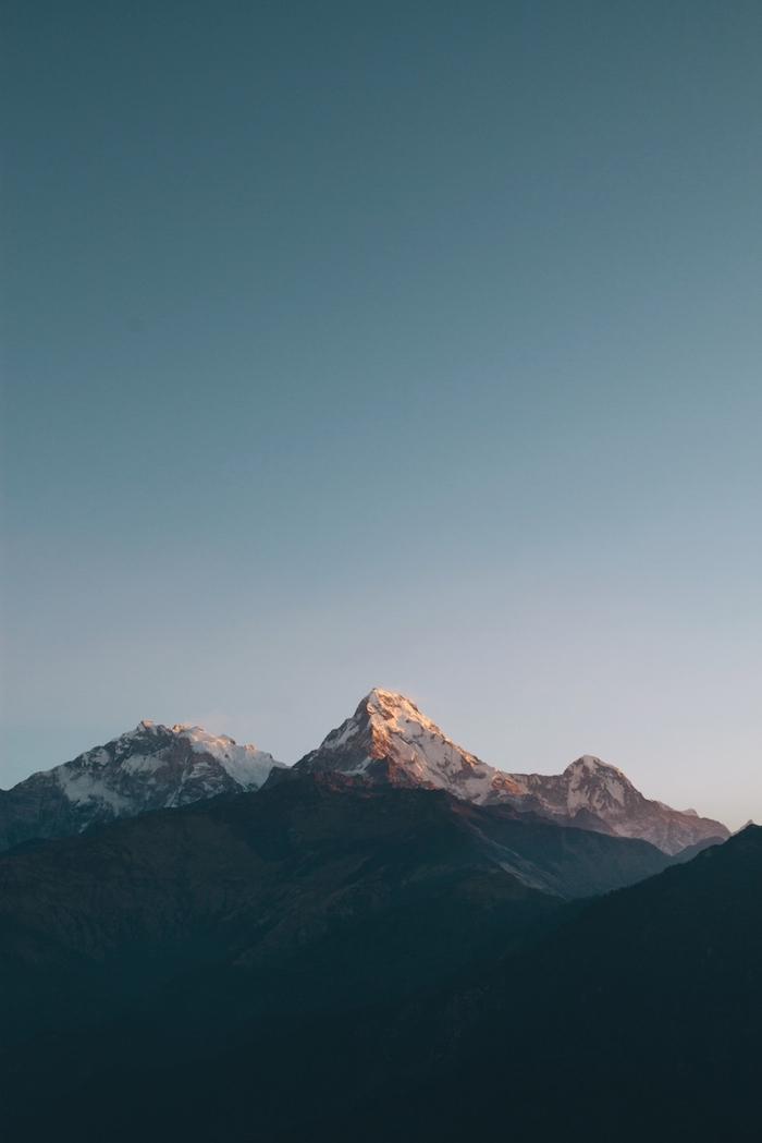 Paesaggio montagna, wallpaper tumblr, monti con neve