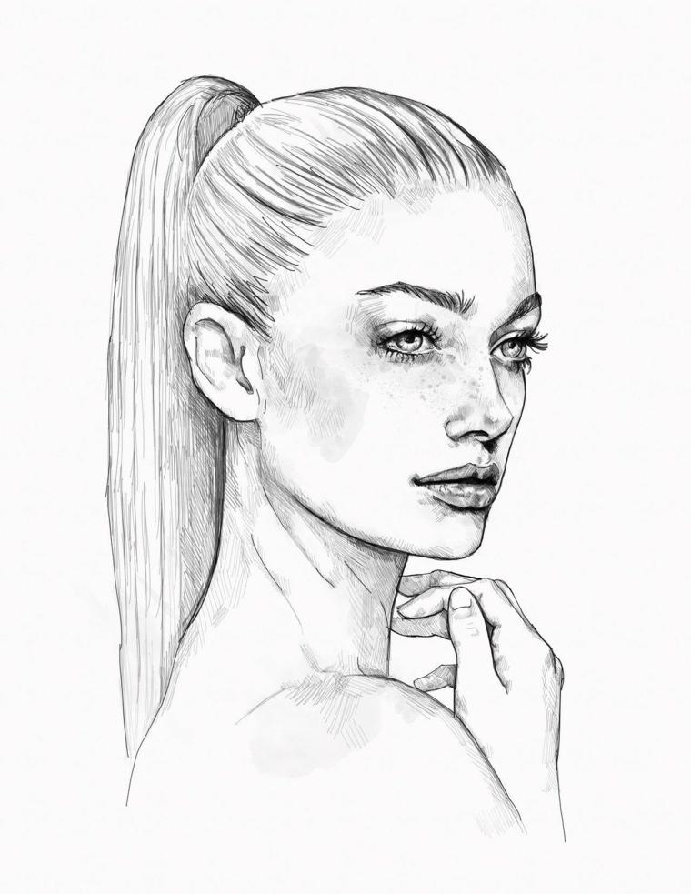 1001 idee per disegni a matita facili e molto belli for Disegni facili da disegnare a mano libera