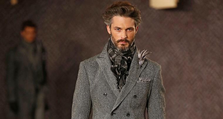 Abbigliamento maschile elegante, tagli capelli maschili