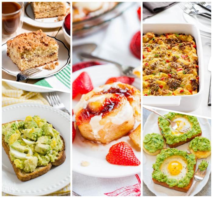 Toast con guacamole, pancake con fragole, antipasti sfiziosi freddi veloci
