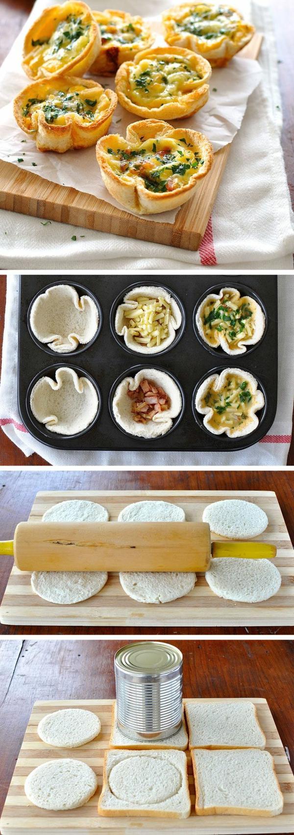 Antipasti sfiziosi freddi veloci, muffin con verdure, muffin con uova e spinaci