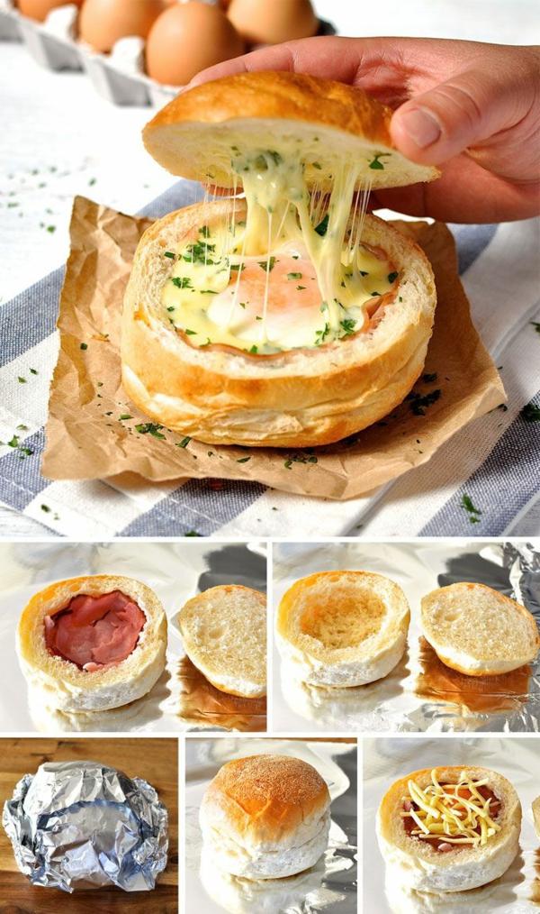 Ciabatta con ripieno, Ricette antipasti sfiziosi, ciabatta con becon e formaggio fuso