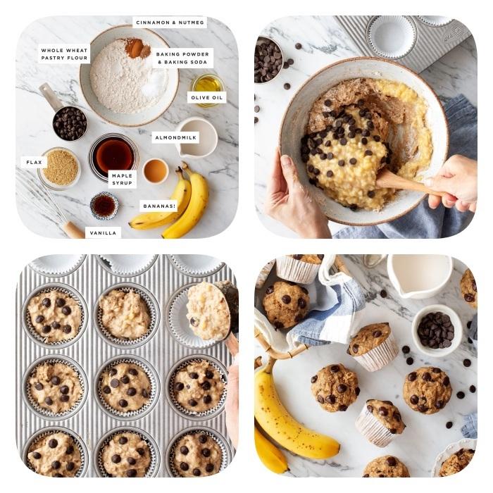 Ricetta biscotti classici, cookies con gocce di cioccolato, impasto per biscotti