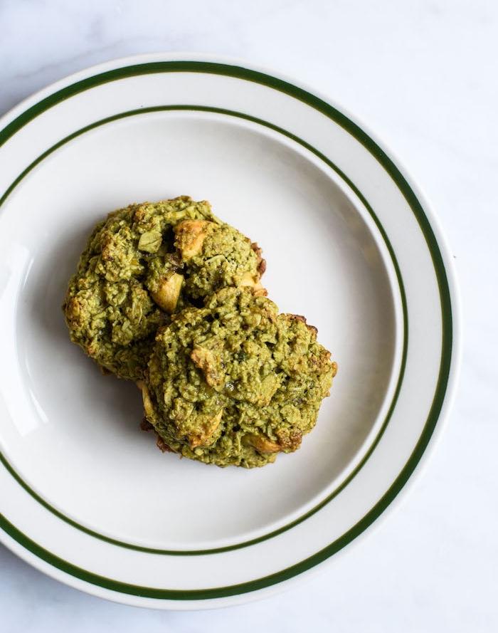 Impasto per biscotti verde, come fare i biscotti in casa, impasto biscotti con arachidi