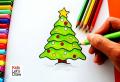Albero di Natale da colorare e tante idee dedicate ai bambini!