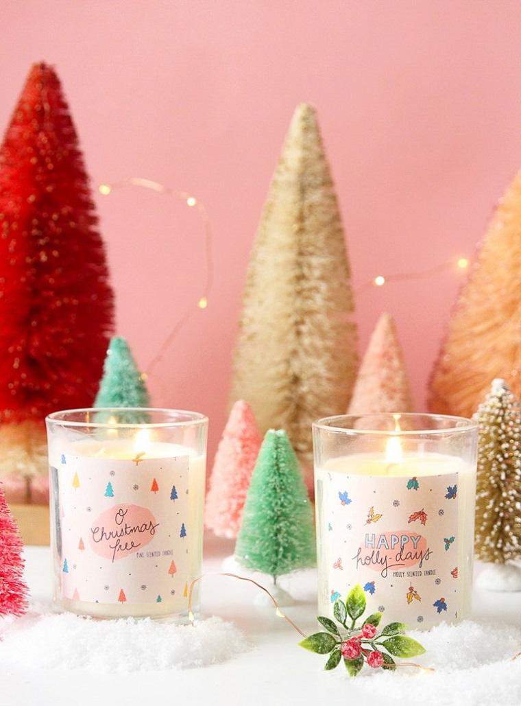 Candele fai da te, mini alberi di Natale, cosa posso regalare alla mia ragazza