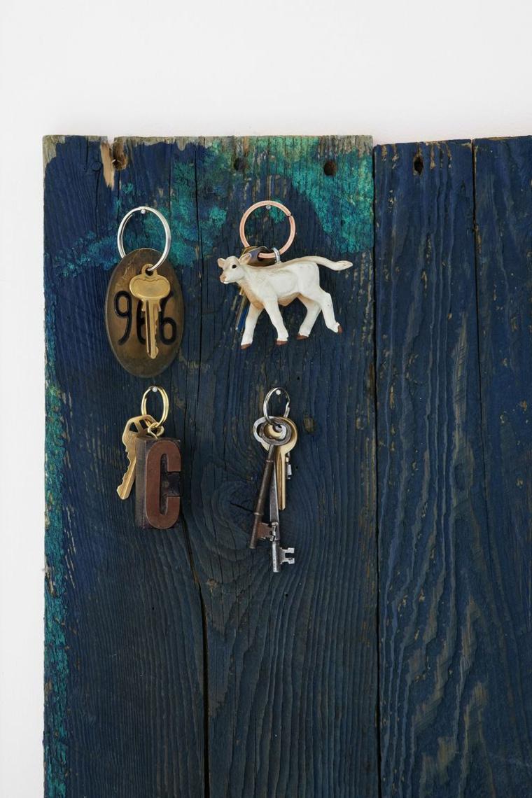 Appendi chiave di legno, parete di legno, idee regalo fidanzato, regalo di natale insolito