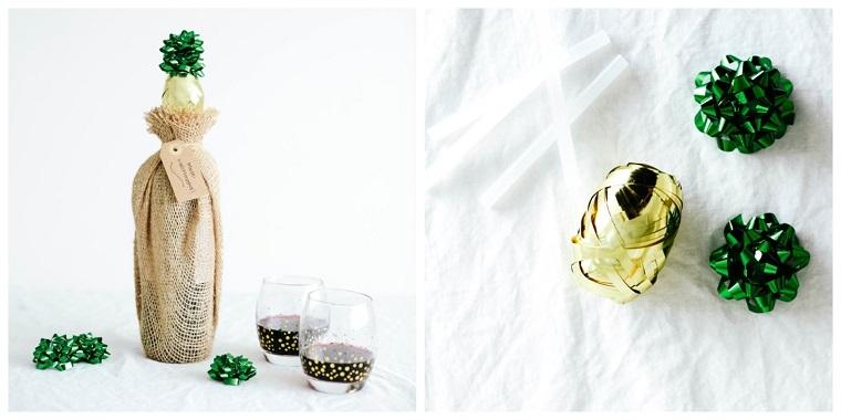 Tutorial regalo natalizio, bottiglia di vino in sacchettino, idee regalo uomo 50 anni