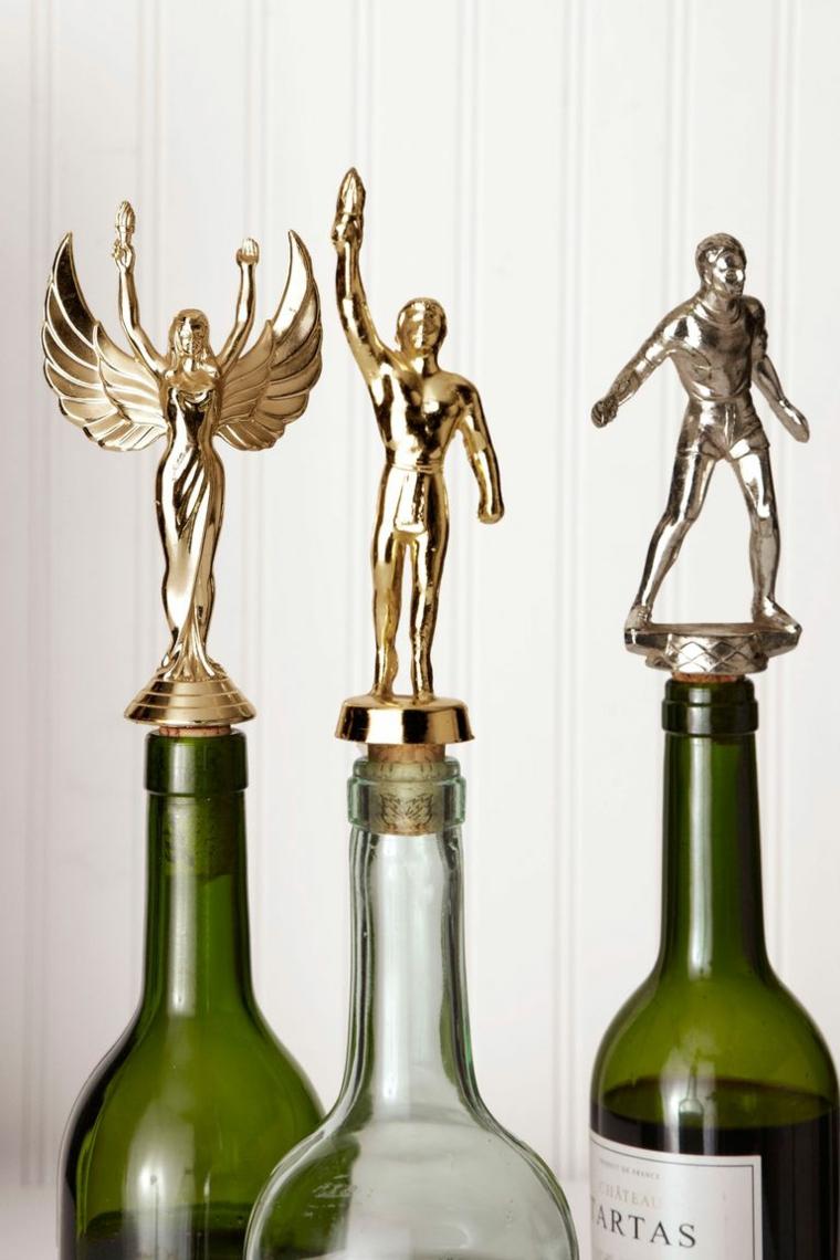 Regalo per uomo, tappi per bottiglie, cosa regalare a Natale per lui, bottiglie di vino