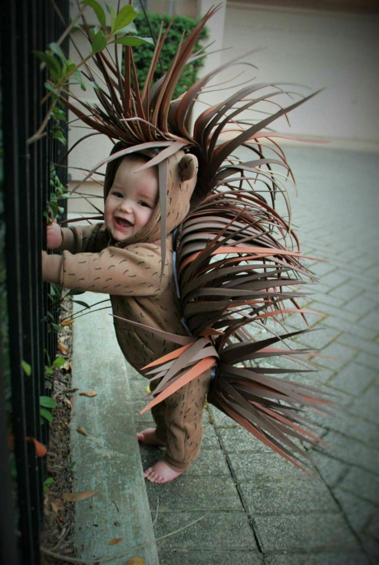 Costume pianta in feltro, bimbo travestito da pianta, costume carnevale neonato