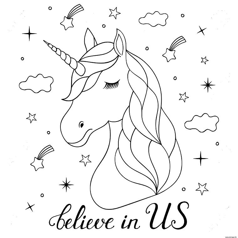 1001 Idee Per Unicorno Disegno Da Colorare E Non