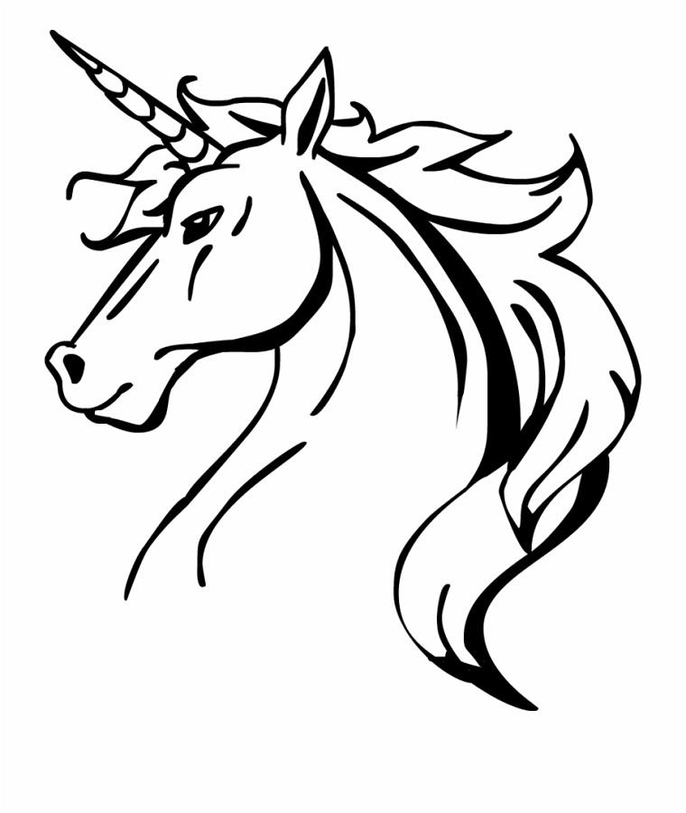1001 idee per unicorno disegno da colorare e non for Disegno cavallo per bambini