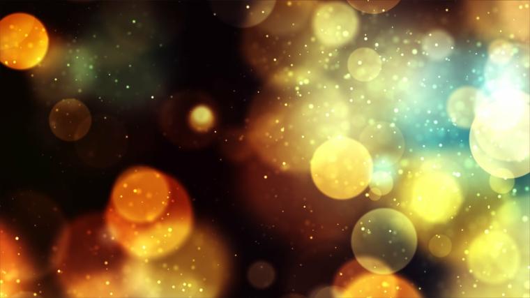 Foto con effetti di luce, immagine per lo schermo del computer