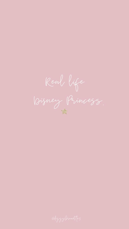 Sfondi bellissimi, immagine con sfondo e rosa e scritta, scritta ispirata a Disney
