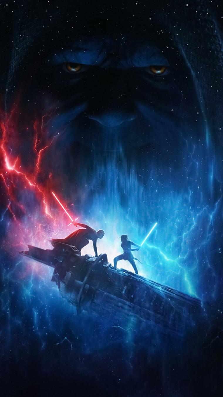 Foto immagine dal film Star Wars, foto per lo schermo del telefono cellulare