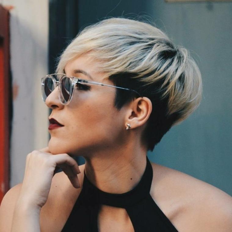 1001 + Idee per Tagli di capelli corti per donne cinquantenni
